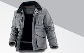 Jakne, prsluci, tople majice, zimske hlače i kape